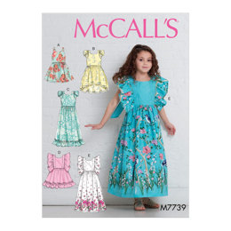 McCall's Children's/Girls' Dresses M7739 - Sewing Pattern