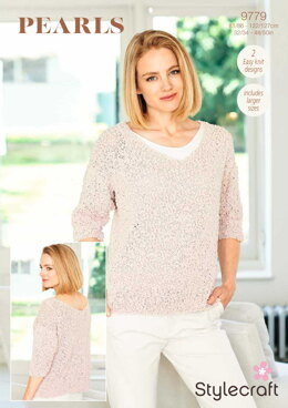 Sweaters in Stylecraft Pearls - 9779 - Downloadable PDF