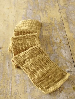 Basic Sampler Scarf in Lion Brand Wool-Ease - 70528AD