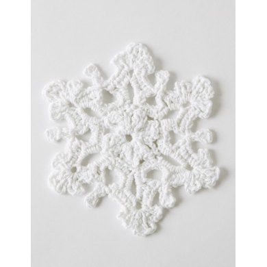 Twinkling Snowflakes in Bernat Handicrafter Holidays - Downloadable PDF