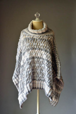 Stonefall Poncho in Universal Yarn Major - Downloadable PDF