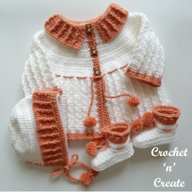 Three Piece Baby Outfit