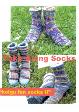 Koigu Take Along Socks Book II