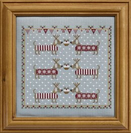 Historical Sampler Company Chilly Dogs Cross Stitch Kit