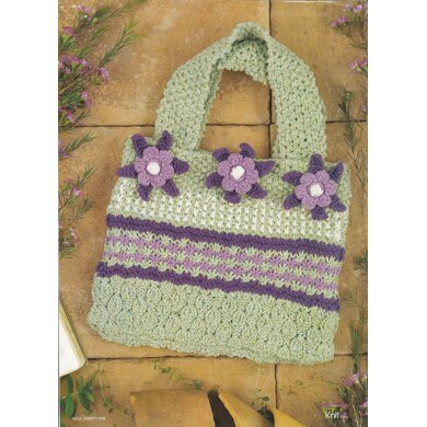 Flower and Texture Bag