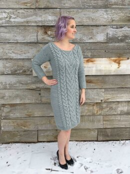 Hot and Bothered Cable Dress