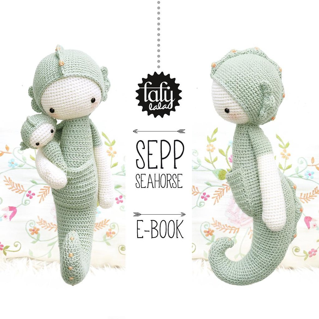 Lalylala sepp the seahorse crochet pattern by lalylala zoom bankloansurffo Image collections