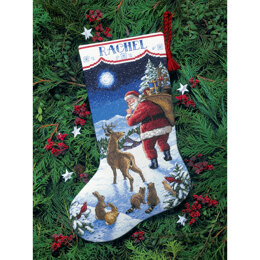 Dimensions Santa's Arrival Stocking Cross Stitch Kit -