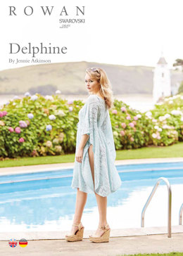 Delphine Cover-Up Top in Rowan Fine Lace - ROC010 - Downloadable PDF