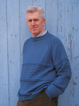 Eddie Sweater in Rowan Wool Cotton