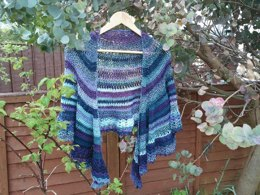 Lavender's Blue, Dilly Dilly Shawl