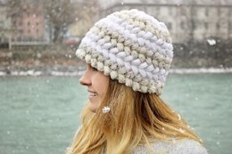 Braided Puff Hat