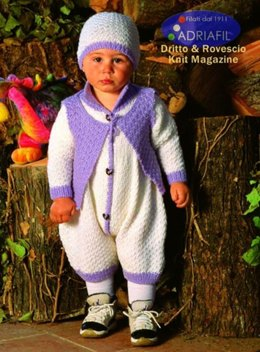 Leonardo Outfit in Adriafil Merino, Avantgrade and Nice Baby - Downloadable PDF