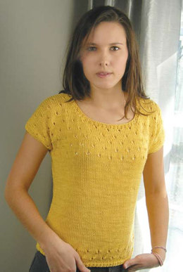 Sunny Tee in Knit One Crochet Too Nautika - 2014