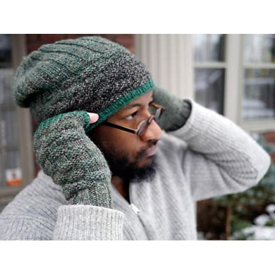 Creel Cap, Mitts, and Cowl