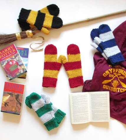 Totally Wizard Mittens