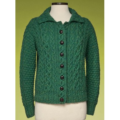 Cabled Cardigan #173