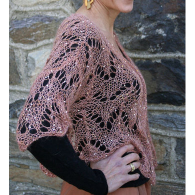 Jacket In Artyarns Beaded Mohair And Sequins I121 Crochet