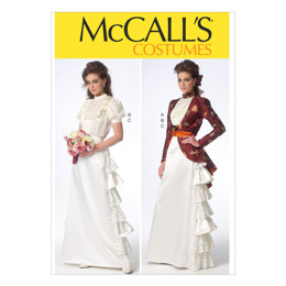 McCall's Misses' Costume M7071 - Sewing Pattern