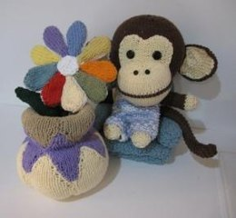 Knitkinz Flower and Vase