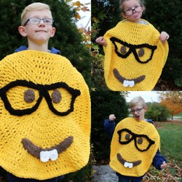Nerd Emoji Inspired Costume