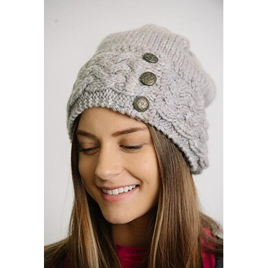Frosty Cables Hat