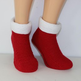 Mens Simple Christmas Boots Slippers