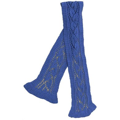 Bluebell Lace Scarf
