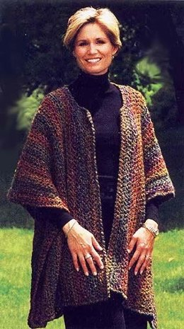 Free Cape & Poncho Knitting Patterns | LoveKnitting
