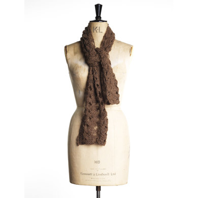Twisted Scarf in Toft DK