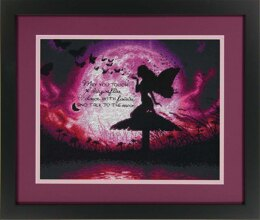 Dimensions Butterfly Fairy Cross Stitch Kit - 35.5cm x 28cm