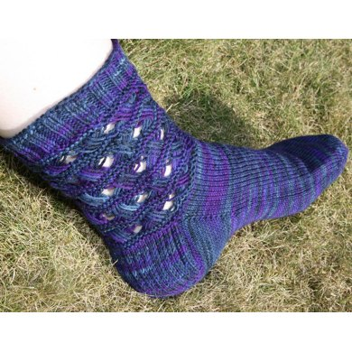 Indian Violets Knitting Pattern By Kirsten Mcteer