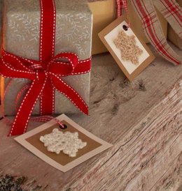 Gift Tag in Regia 4 Ply 50g - R0096B - Downloadable PDF
