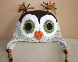Boy Owl Hat