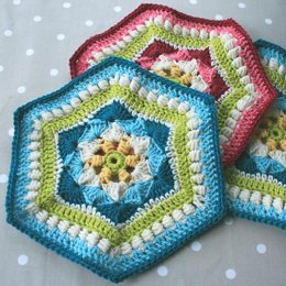 Shells and Clusters Hexagon