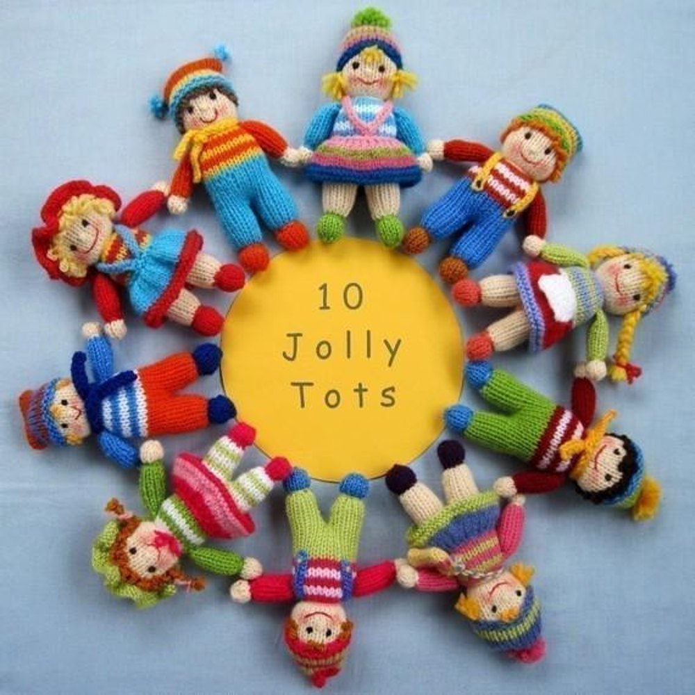 Jolly Tots - Small Knitted Dolls Knitting pattern by ...