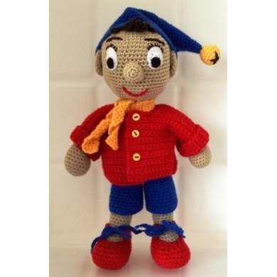 Noddy Doll Knitting Pattern : Noddy Crochet pattern by Spook Designs Knitting Patterns LoveKnitting