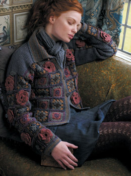 Rona Jacket in Rowan Felted Tweed