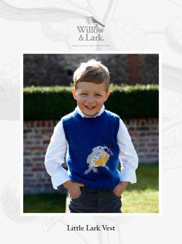 Little Lark Vest in Willow & Lark Nest - Downloadable PDF