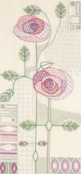 Derwentwater Designs Morning Rose Cross Stitch Kit