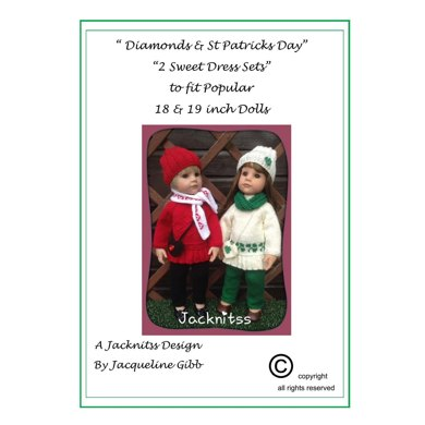 09 Diamonds and St Patrick's Day Sweetheart Sets