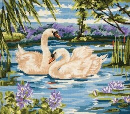 Anchor Swans Tapestry Kit - 40 x 30 cm