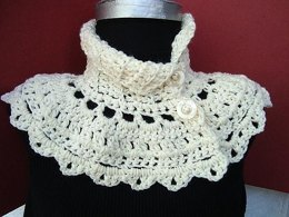 Cream Summer Capelet | Crochet Pattern by Ashton11