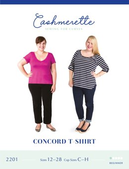Cashmerette Concord T-Shirt 2201 - Sewing Pattern