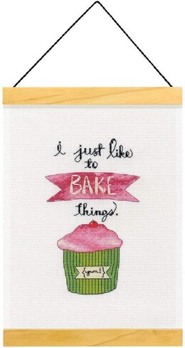 Dimensions I just Like to Bake Things Cross Stitch Kit - Multi