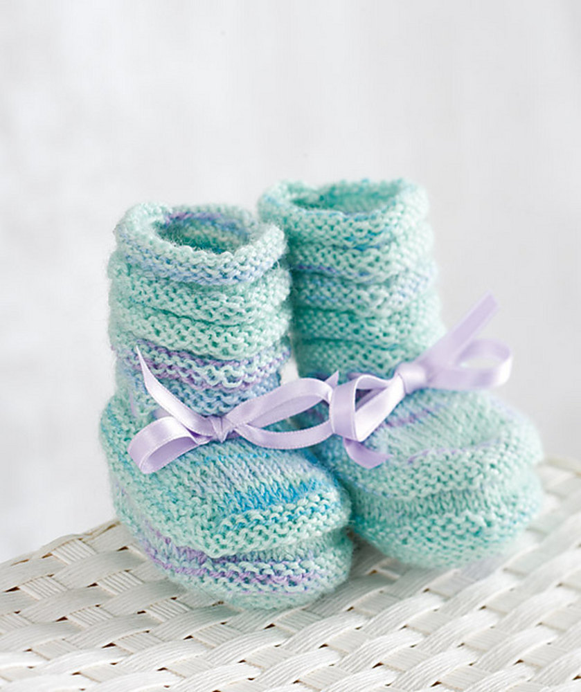 Baby Booties in Regia My First Regia 4 Ply | Knitting Patterns ...