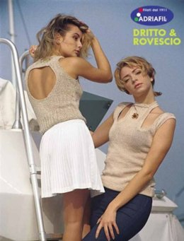 Naked Top and Cord Vest in Adriafil Snappy Ball and Eco