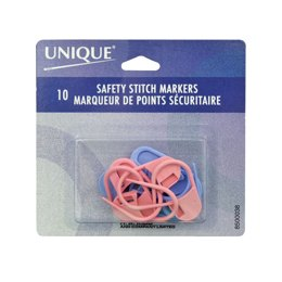 Unique Safety Stitch Markers Large