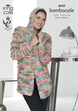 Jacket and Waistcoat in King Cole Bamboozle - 4049