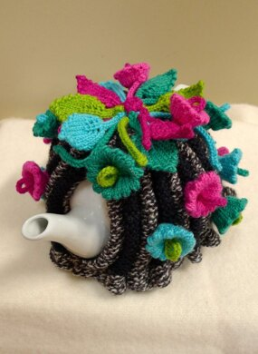 Flowers of the Moon Tea Cosy